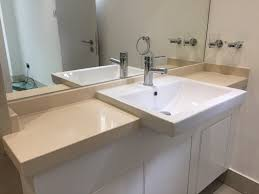 Bathroom Vanity Worktops by Mitred Quartz Bathroom Vanity Tops In Cimstone Oasis Supplied