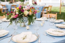 mismatched plates wedding colorful whimsical henniker backyard wedding erika follansbee