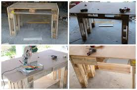 Woodworking Workbench Height by Pallet Workbench Height Best House Design