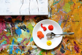 how to create simple artwork that will make your living space come