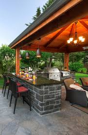 Outside Kitchens Ideas by Kitchen Backyard Pb Pictures Outdoor Kitchen Floor Plans Covered