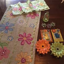 pottery barn kids flower table find more pottery barn kids daisy garden rug and valance for sale at