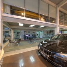 bmw dealership interior molito