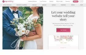 wedding planning website top five places to build your wedding website
