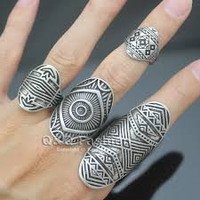 Finger Tribal - aliexpress com buy chic vintage tribal indian mayan calendar