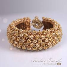bracelet bead tutorials images Corona de flore bracelet beading tutorial beading tutorials jpg