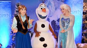 frozen anna u0026 elsa w olaf meet at disney cruise line event talk