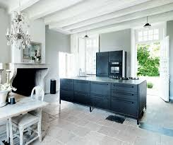 contemporary kitchen period living