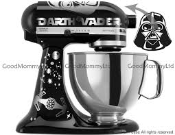 vader skywalker decal kit for your kitchenaid stand mixer