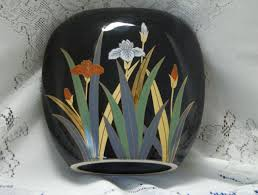 Vase With Irises Otagiri Vases Vintage Nice Shapes Nice Designs Collection On Ebay