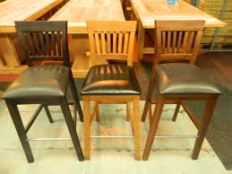 furniture wooden breakfast bar stools for your kitchen decor idea