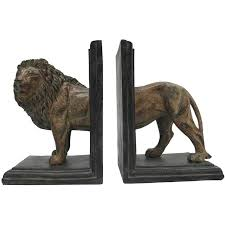 lion bookends bookends seranhome furniture accessories