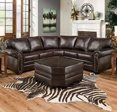 Custom Leather Sofas Simmons Upholstery 9222 Traditional Sectional Sofa With Rolled