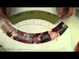 quick method to make a double wedding ring quilt quilting