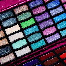 90 colors makeup set glitter eye shadow blush palette set travel