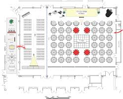 floor layout event floor plan software diagramming and seating software