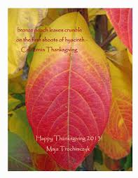 first thanksgiving poem poetry laurels what are we thankful for autumn leaves whitman