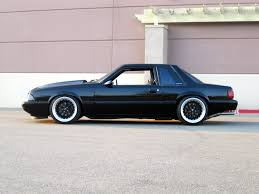 All Black Mustang 5 0 Fox Body Ford Mustang Car Autos Gallery