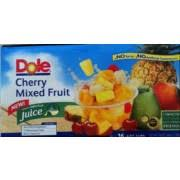 dole fruit bowls dole fruit cup cherry mixed fruit calories nutrition analysis