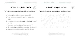 present simple consolidation worksheet photocopiables