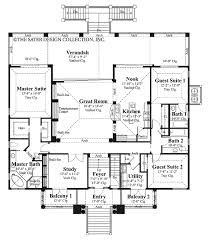 mediterranean style house plan 3 beds 3 baths 2494 sq ft plan