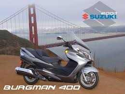 2007 suzuki burgman 400 first ride motorcycle usa