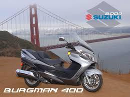 2007 suzuki burgman 400 first ride motorcycle usa