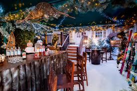 ski bars in london alpine ski themed drinking spots