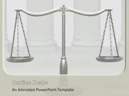 ppt templates for justice justice scale a powerpoint template from presentermedia com