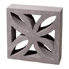 inspirations decorative cinder blocks for outdoor and plant decor