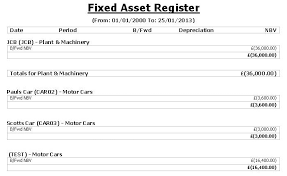 Fixed Asset Register Excel Template 8 Best Images Of Exle Of Fixed Asset Register Fixed Asset