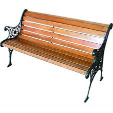 panchine da giardino in ghisa da giardino in ghisa legno blinky dalia 12 stecche cm 125x57x70