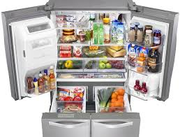 Whirlpool Inch French Door Refrigerator - whirlpool wrv976fdem 36 inch 4 door french door refrigerator with
