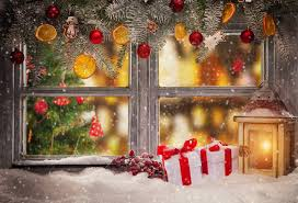 christmas backdrop horizontal christmas decorations for home photography backdrops