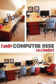 Budget Computer Desks Diy Computer Desk Station Budgeting Desks And Organizations