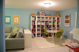 fun playroom ideas for kids with cool funny painting without frame
