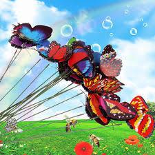 butterfly metal garden statues lawn ornaments ebay