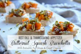 the best thanksgiving appetizer butternut squash bruschetta