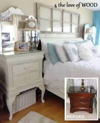 amazing white and blue bedroom with white tall dresser as