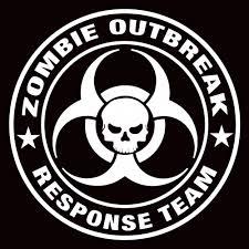 zombie jeep decals 4 u0027 inch zombie outbreak response team vinyl window sticker decal
