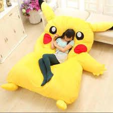 Giant Totoro Bed Crunchyroll Huge Pikachu Bed To Be Released