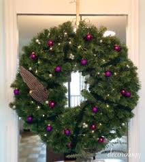 German Christmas Decorations Diy by Decorating How To Decorate The Front Door For Christmas Green