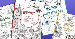 u0027harry potter u0027 coloring books debut lara u0027s