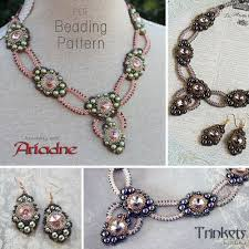 necklace beaded pattern images Beading patterns trinkets jpg