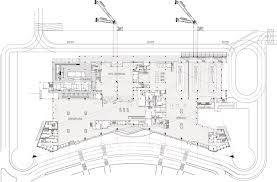 terminal floor plan gallery of new terminal at lucknow airport s ghosh u0026 associates