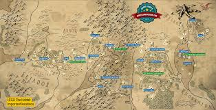 Map Middle Earth Popular 171 List Map Customizer