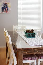 how to make dining room chairs easy diy table runner tutorial sew much ado
