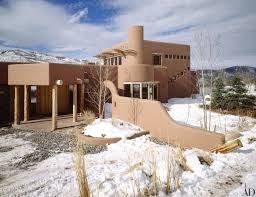 Home And Design Logo Ad Visits Cher U0027s Adobe Retreat In Aspen Architectural Digest