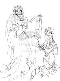 sally nightmare before christmas coloring pages google search