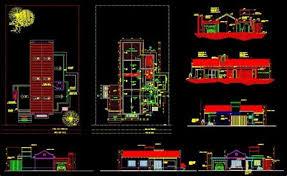 interior layout dwg furniture layout plan 7 center of gastronomy 2d dwg design plan